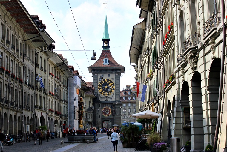 Bern, Switzerland. clock tower