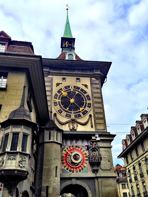 The Clock Tower in Bern. switzerland