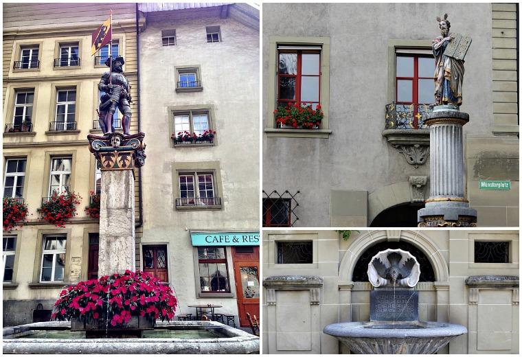 bern switzerland fountains