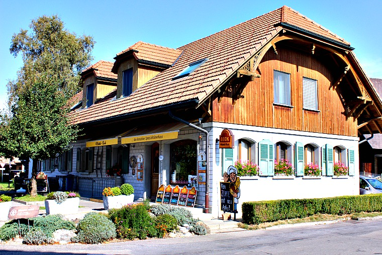 A bakery in Switzerland's Emmental region.
