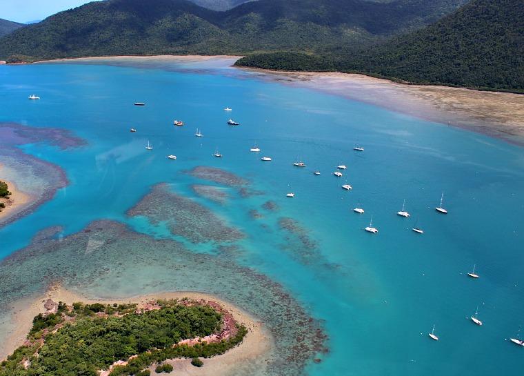 Whitsundays scenic flight, Australia