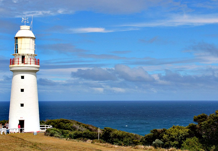 Cape Otway Lightstation along the great ocean road in australia