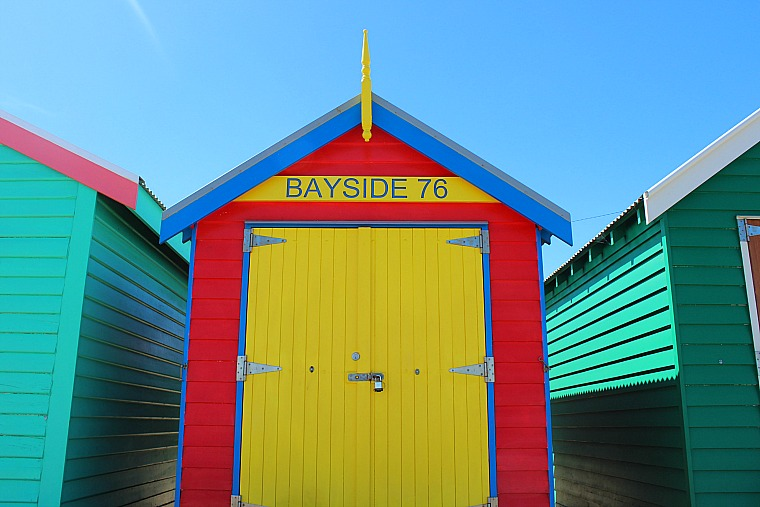Brighton Beach bathing houses