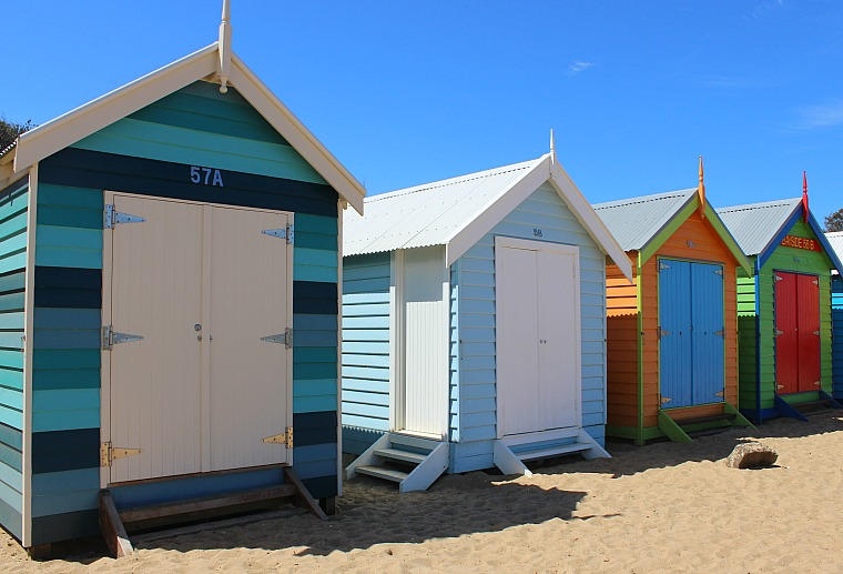 Brighton Beach bathing houses
