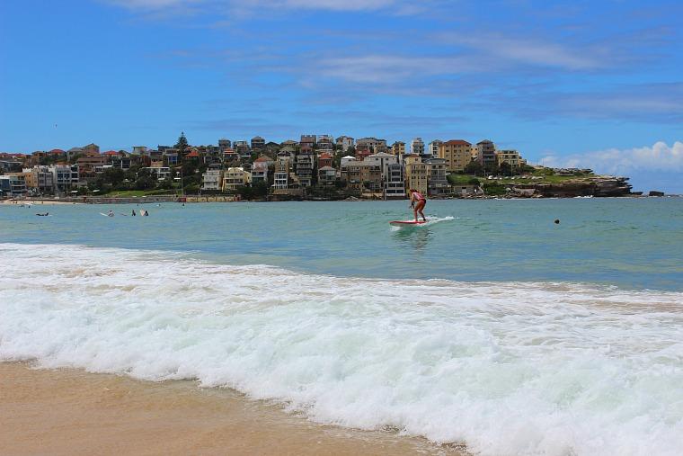 Bondi Beach, Sydney Coastal Walk from Bondi Beach to Coogee Beach.