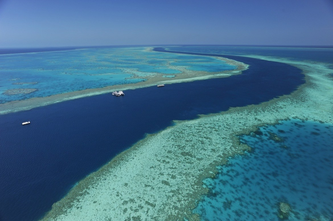The Great Barrier Reef in Australia