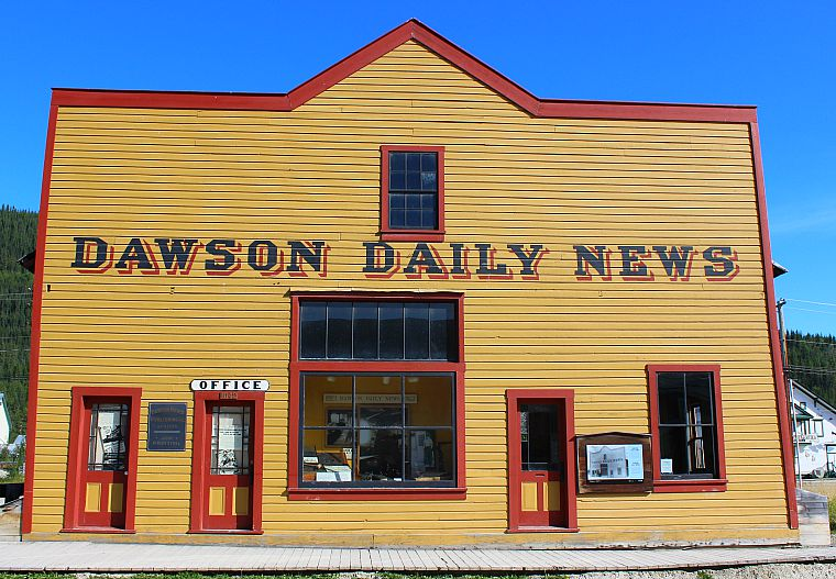 Canada-Yukon-Dawson-City-Daily-News