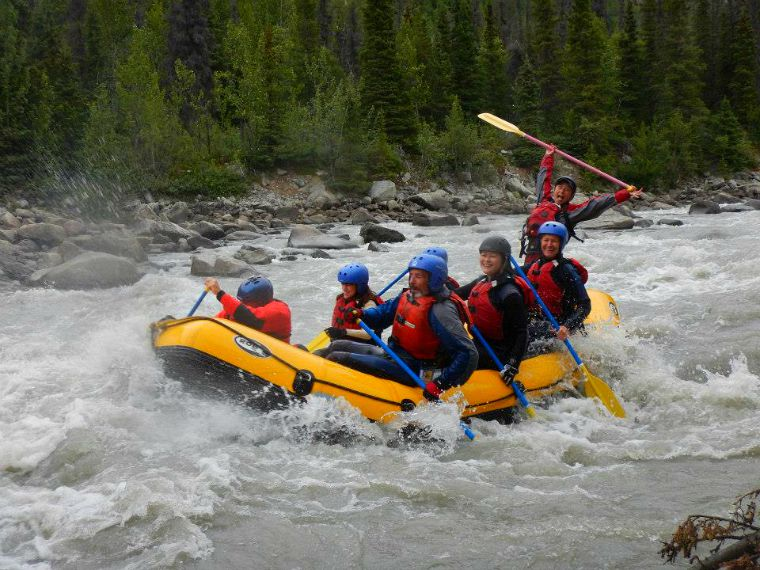 white water rafting yukon