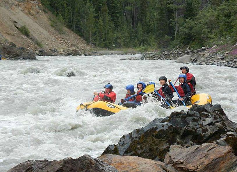 Canada-Yukon-Rafting-Rapids