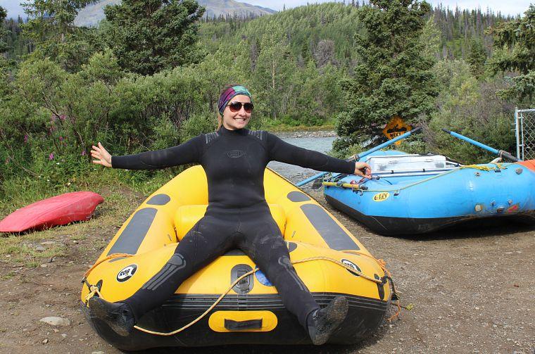 Me, pre-lifejacket.