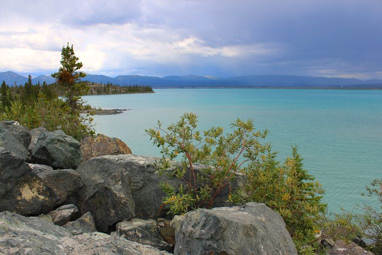 Haines Junction, Yukon kluane lake