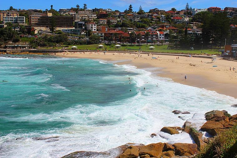 Bronte Beach, Sydney Coastal Walk from Bondi Beach to Coogee Beach.
