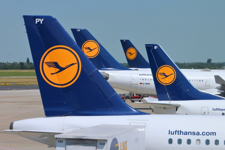 Lufthansa may be a great airline, but look out for those taxes! Credit: Tupungato / Shutterstock.com