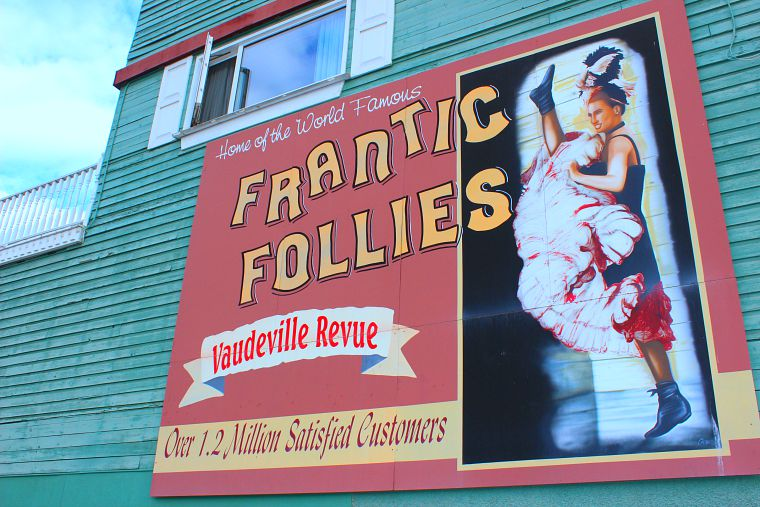 frantic follies Whitehorse yukon