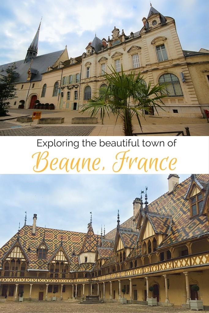 Exploring beautiful Beaune, France