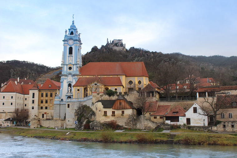 The town of Durnstein, in Austria's Wachau Valley