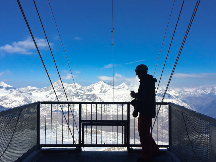 Zermatt Switzerland ski matterhorn paradise