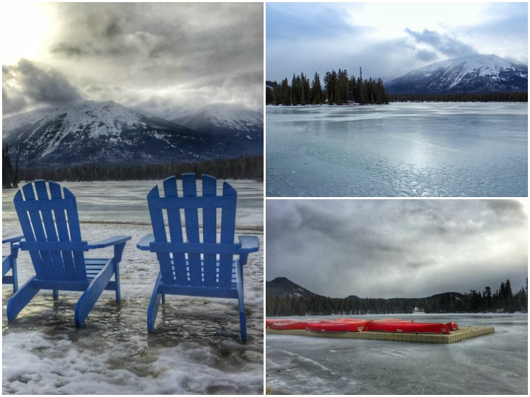 winter activities in jasper, alberta, canada