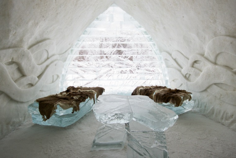 quebec city winter activities hotel de glace