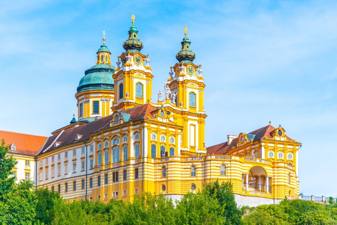 Discovering the treasures of Melk Abbey, Austria