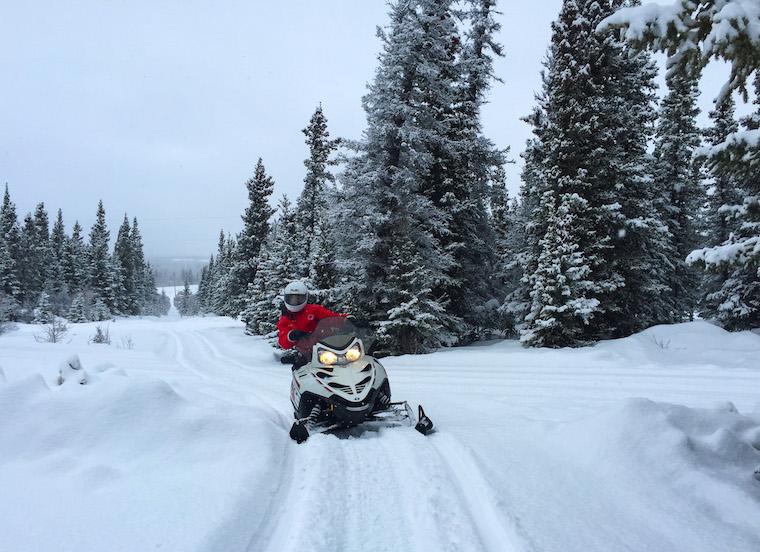 Canada-Yukon-Snowmobiling-Jody