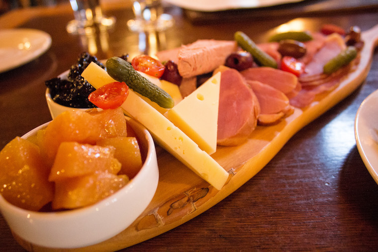 The Rocky Mountain Charcuterie platter