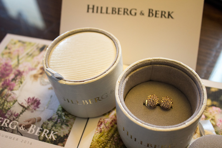 Earrings from Hillberg & Berk
