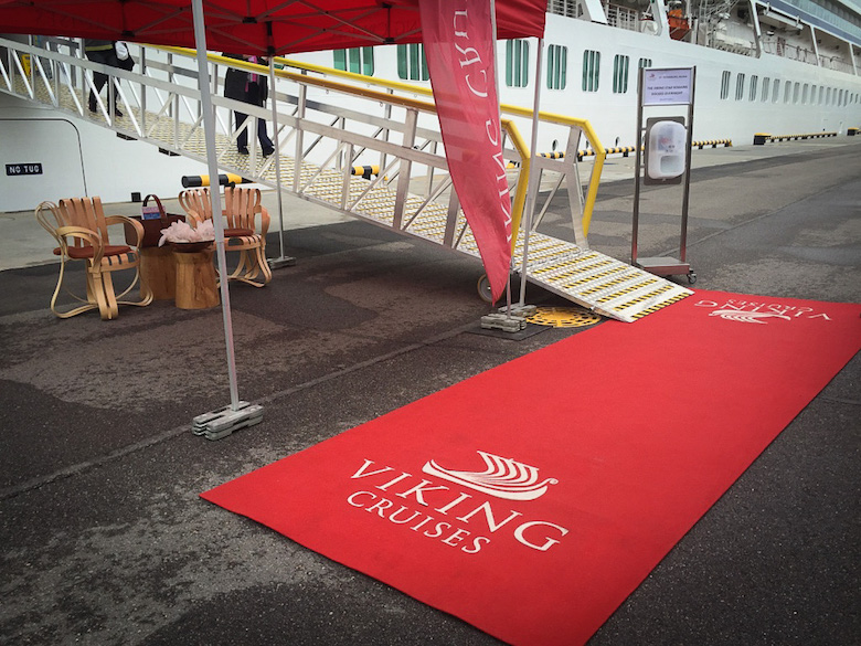 Red carpet treatment is standard!