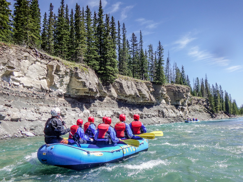 Rafting Red Deer River Sundre Alberta