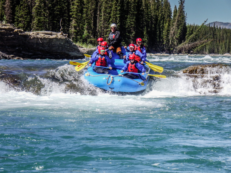 rafting Sundre, Alberta