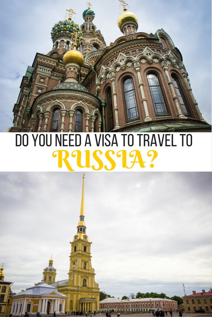Do you need a visa to travel to Russia?