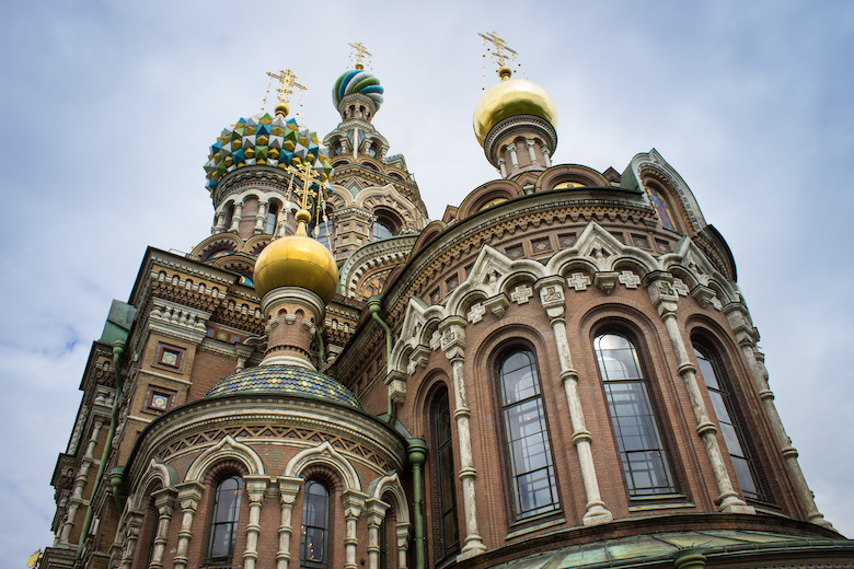 Church of Our Savior on Spilled Blood, St Petersburg itinerary