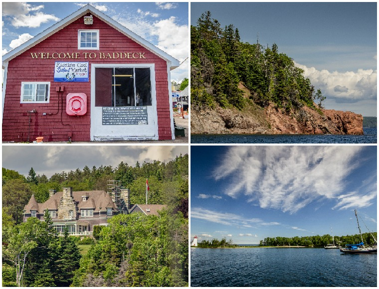 Canada-Nova-Scotia-Baddeck-Collage