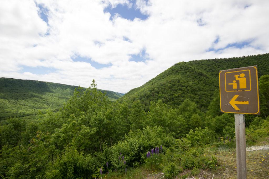 The Aspy Fault, Cabot Trail, Cape Breton, Nova Scotia