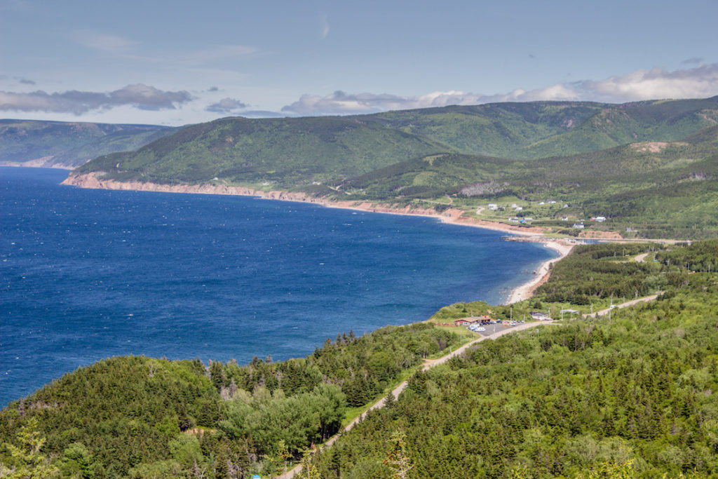 MacKenzie Mountain, Cabot Trail, Cape Breton, Nova Scotia