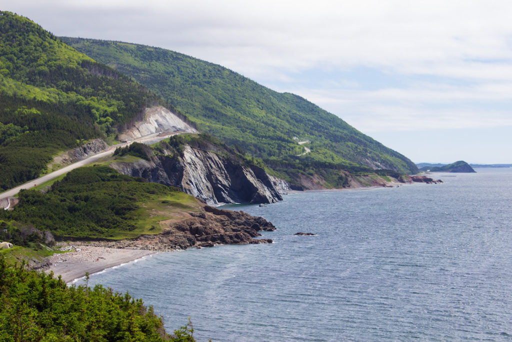 Cap Rouge, Cabot Trail, Cape Breton, Nova Scotia