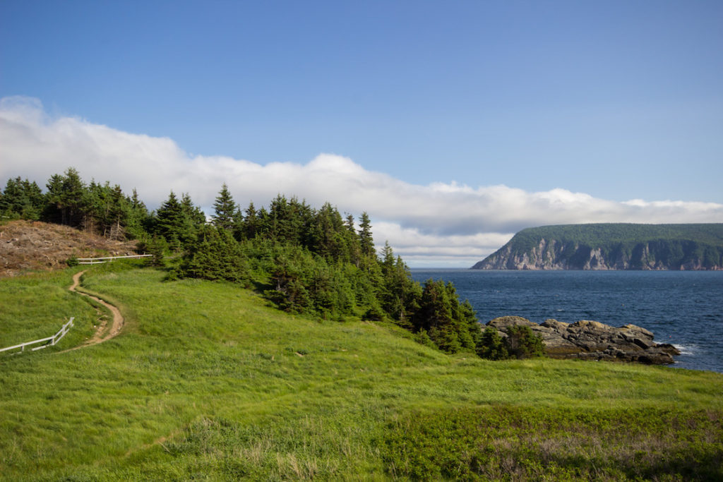 Middle Head Trail, Cabot Trail, Cape Breton, Nova Scotia
