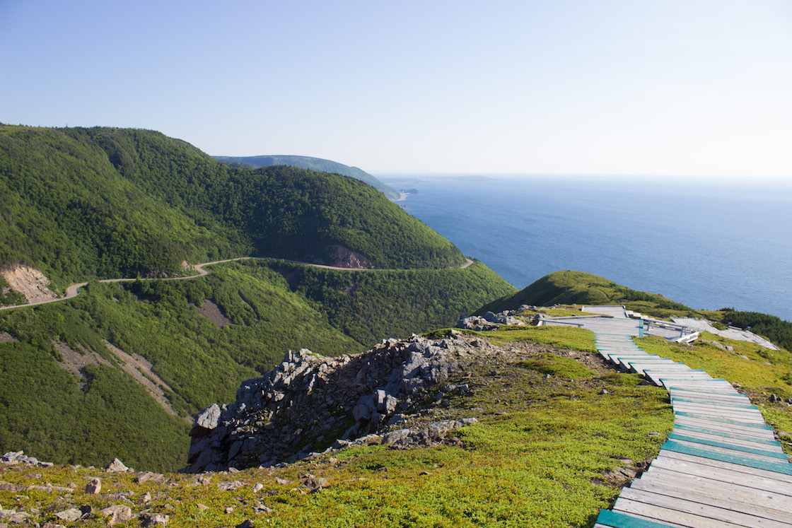 Cabot Trail, Cape Breton, Nova Scotia
