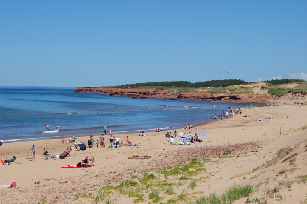 best beaches in prince edward island