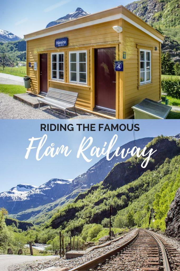 Riding the famous Flam Railway in Norway
