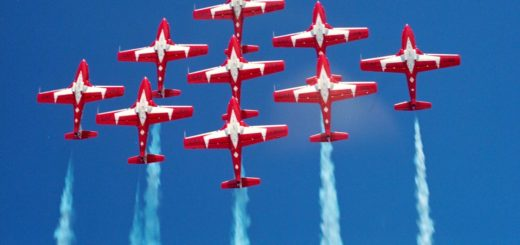 The Snowbirds in flight/CF Photo