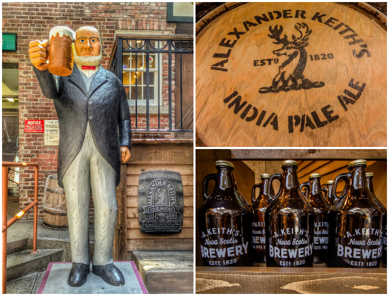 The Alexander Keith's brewery is one of the top things to do in Halifax, Nova Scotia, Canada