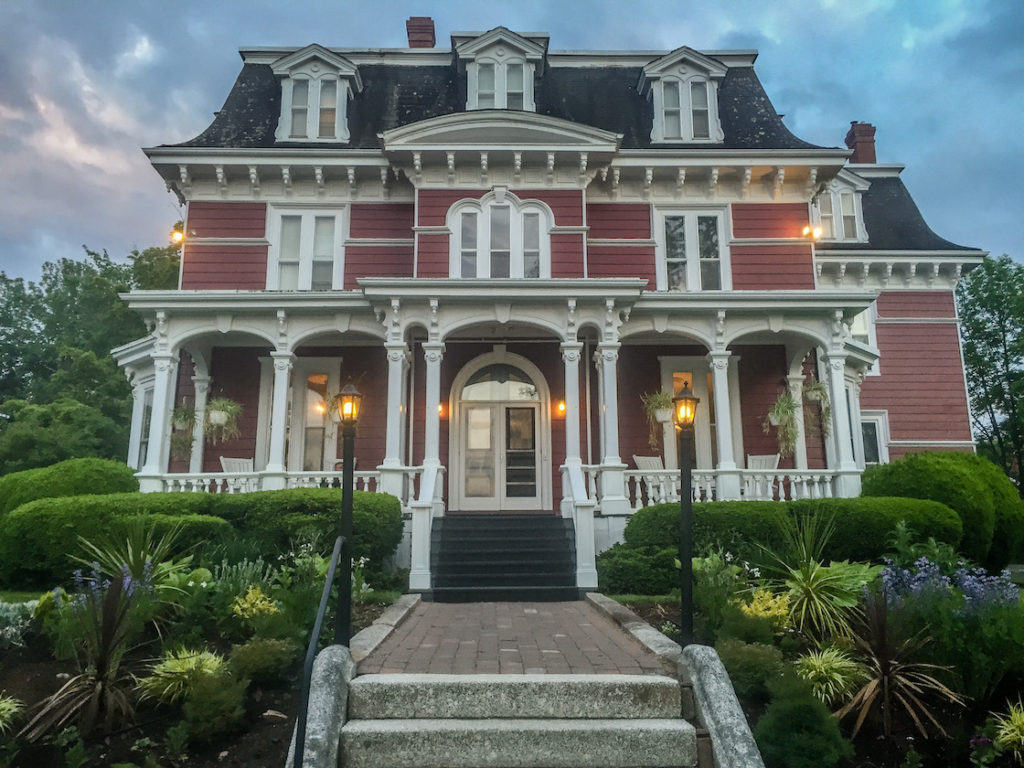 The Blomidon Inn in Wolfville Nova Scotia