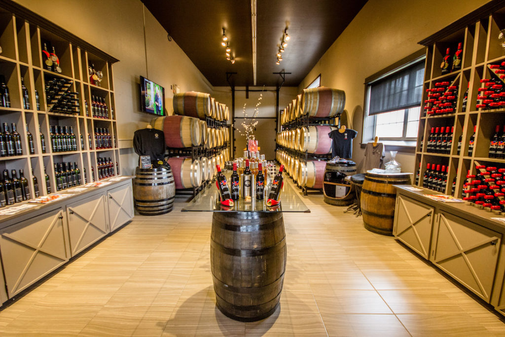 Gaspereau Vineyards is one of the best Wolfville wineries