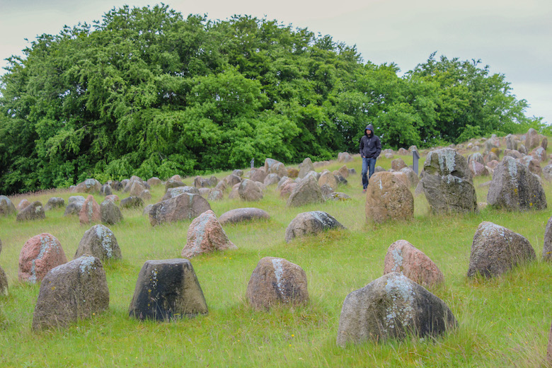 Lindholm Høje Viking graveyard