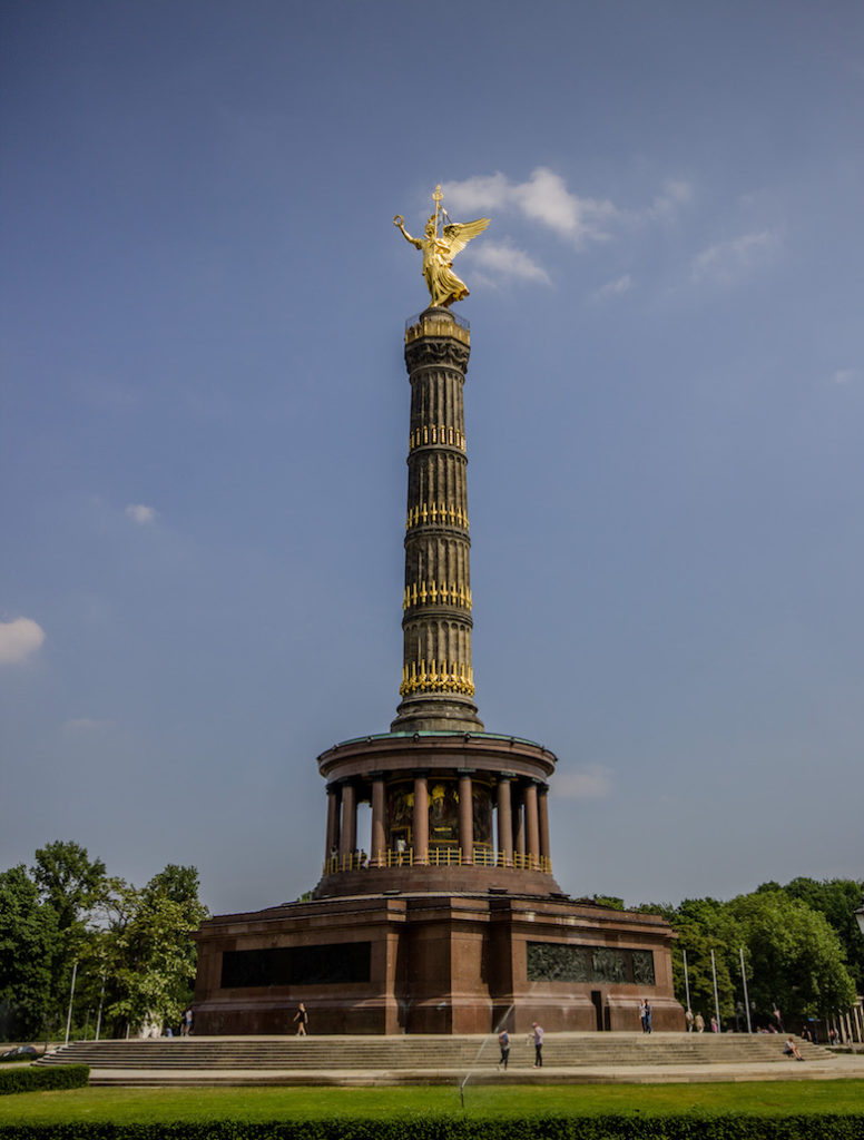 Victory Column (Siegessäule). Berlin, Germany