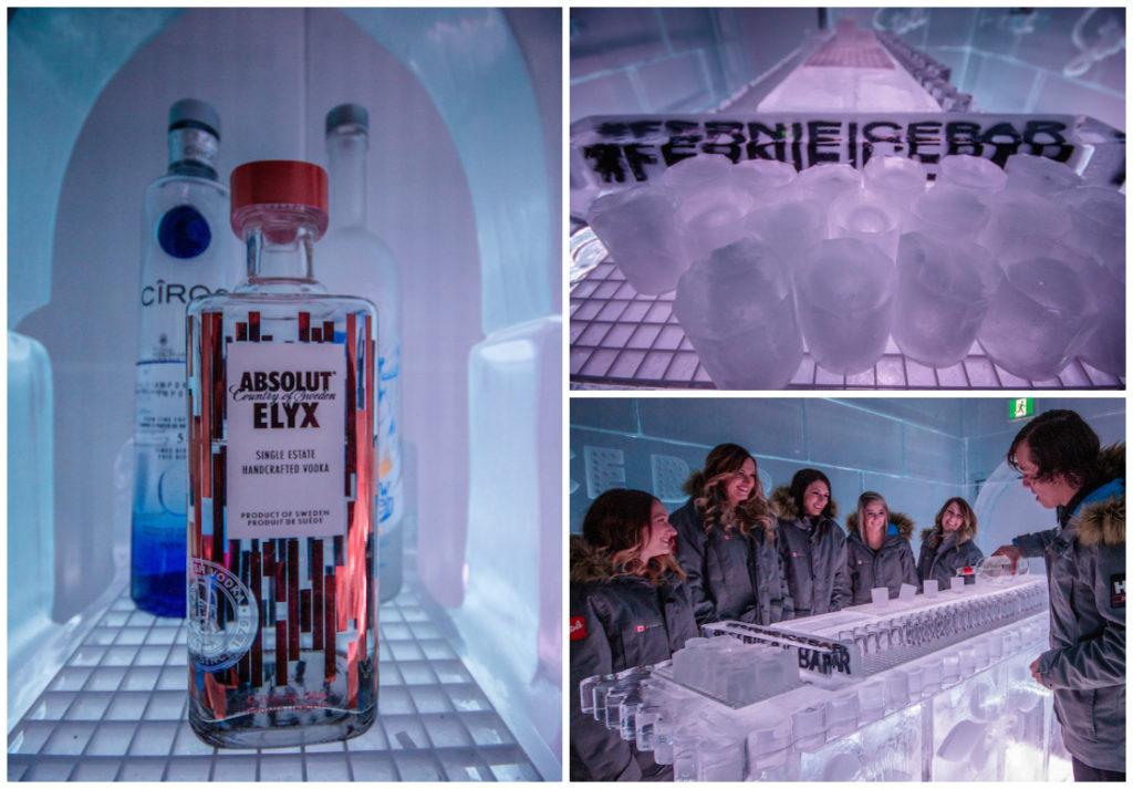 The Fernie ice bar