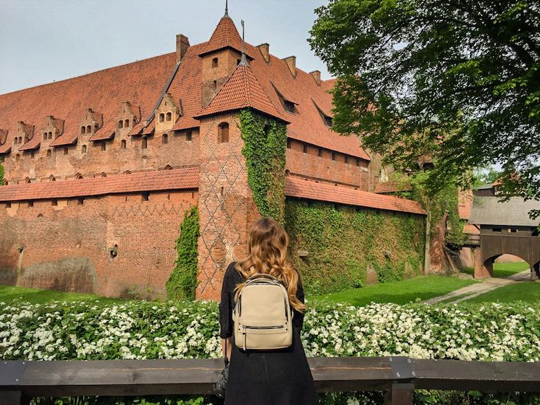 At Malbork Castle in Poland
