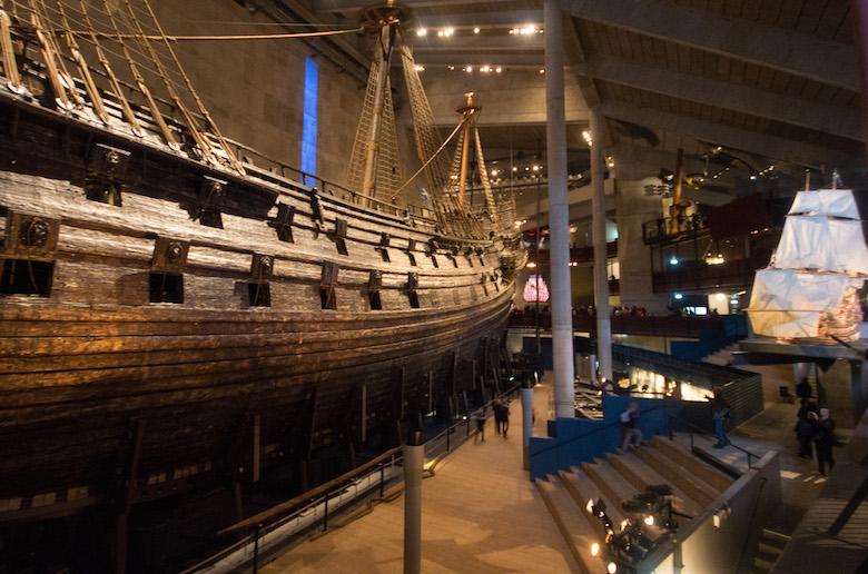 The Vasa Museum. Stockholm, Sweden