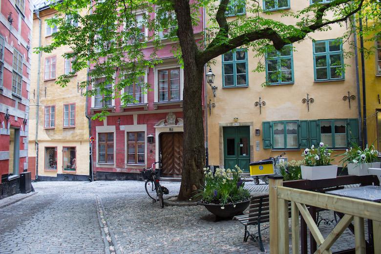 Gamla Stan in Stockholm, Sweden.